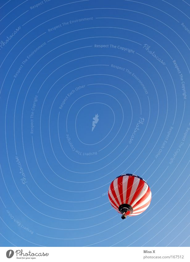 Sky Vacation & Travel Summer Freedom Flying Tall Driving Beautiful weather Hot Air Balloon American Flag Worm's-eye view Balloon flight