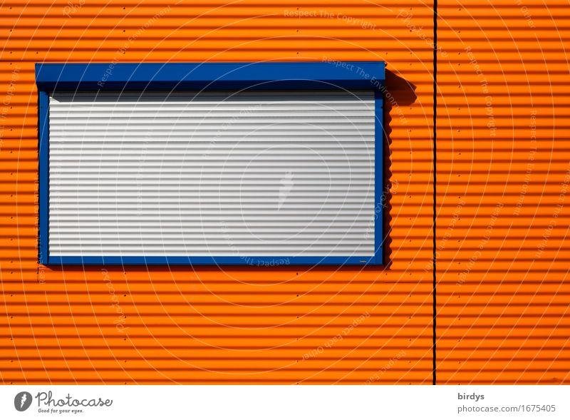 Vacation & Travel City Blue Window Wood Gray Line Facade Metal Design Orange Living or residing Illuminate Esthetic Simple Closed