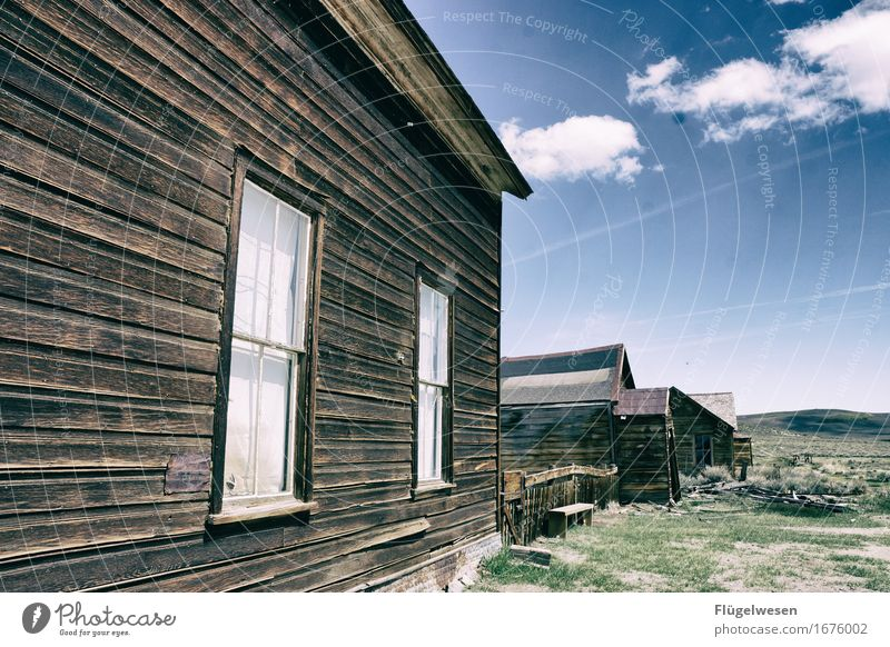Wild Wild West [3] Trip Adventure Far-off places To enjoy Retro Old town Old building Western Western town Haunted house Ghost town USA Americas Vacancy Extinct