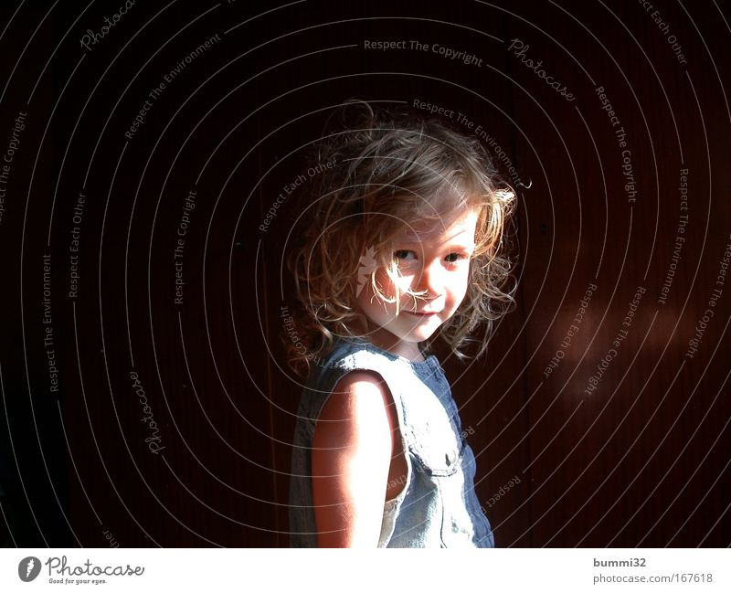 Human being Girl Child Happy Illuminate Friendliness Portrait photograph