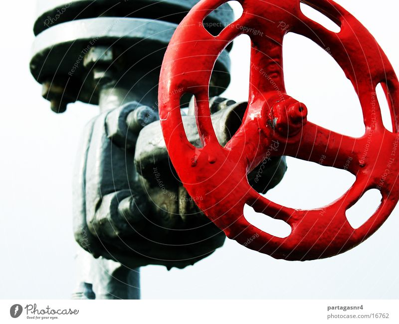the red valve Valve Red Industry Closure Pressure