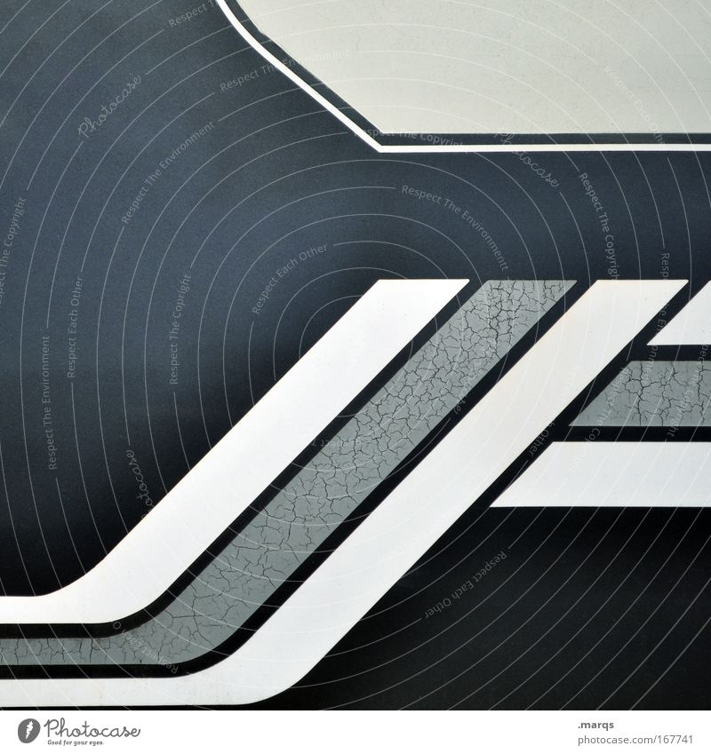 Blue Black Gray Style Line Design Success Esthetic Growth Exceptional Hope Stripe Uniqueness Retro Illustration Abstract
