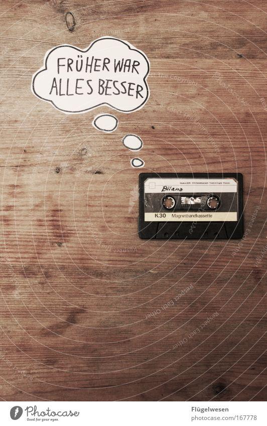Feasts & Celebrations Music Listening Tape cassette Former Technology Nostalgia for former East Germany Balance sheet Listen to music
