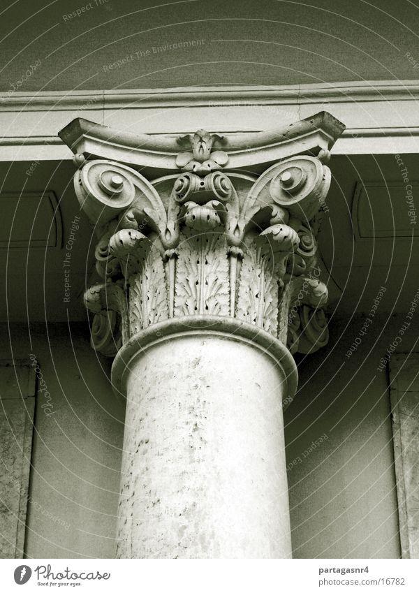 Architecture Column Sandstone