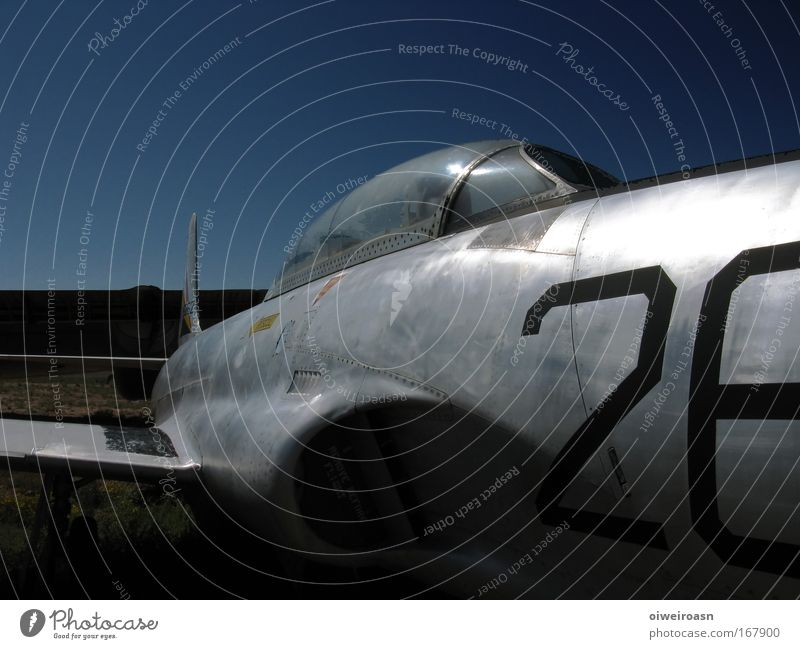 Old Blue Black Airplane Elegant Esthetic Aviation Broken Historic Silver Museum
