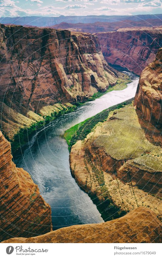 Horseshoe Bend (Arizona) [7] Beautiful Trip Mountain Landscape Water River Tourist Attraction To enjoy Vantage point USA National Park Americas Page