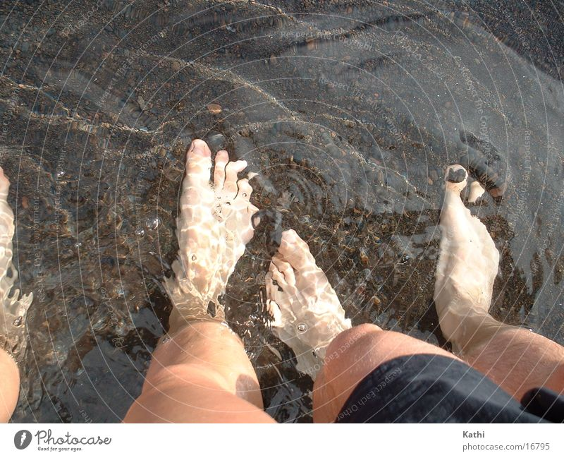Water Summer Vacation & Travel Feet Legs La Palma