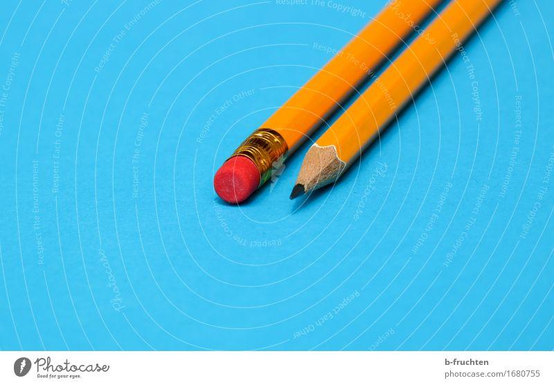 Blue Orange Success Point Paper Meeting Pen Stationery Orderliness Eraser
