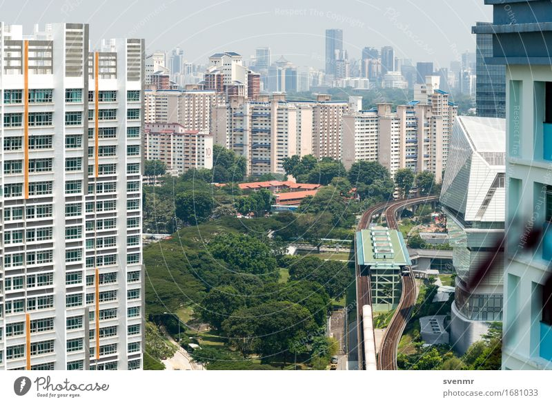 Singapore MRT Station Buona Vista Vacation & Travel Tourism Far-off places City trip Tree Asia Town Skyline Overpopulated House (Residential Structure)