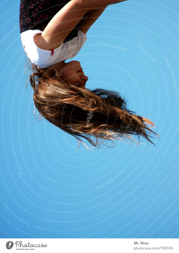 Girl Beautiful Joy Child Hair and hairstyles Head Mouth Wind Nose Flying Happiness Direction Wild Infancy Rotate