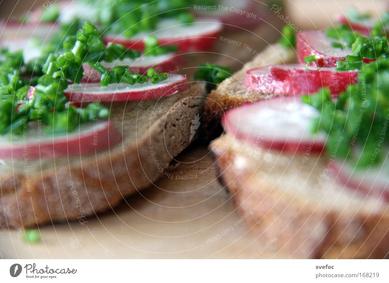 Eat this Colour photo Close-up Detail Deserted Shallow depth of field Food Vegetable Dough Baked goods Bread Herbs and spices Dinner Organic produce