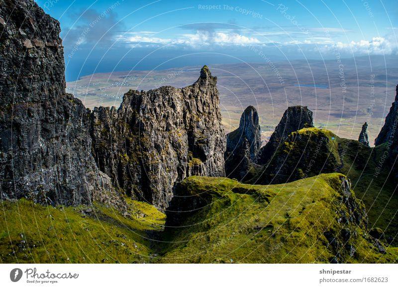 The Quiraing, Isle of Skye, Scotland Whiskey Life Vacation & Travel Tourism Adventure Mountain Hiking Climbing Mountaineering Environment Nature Landscape