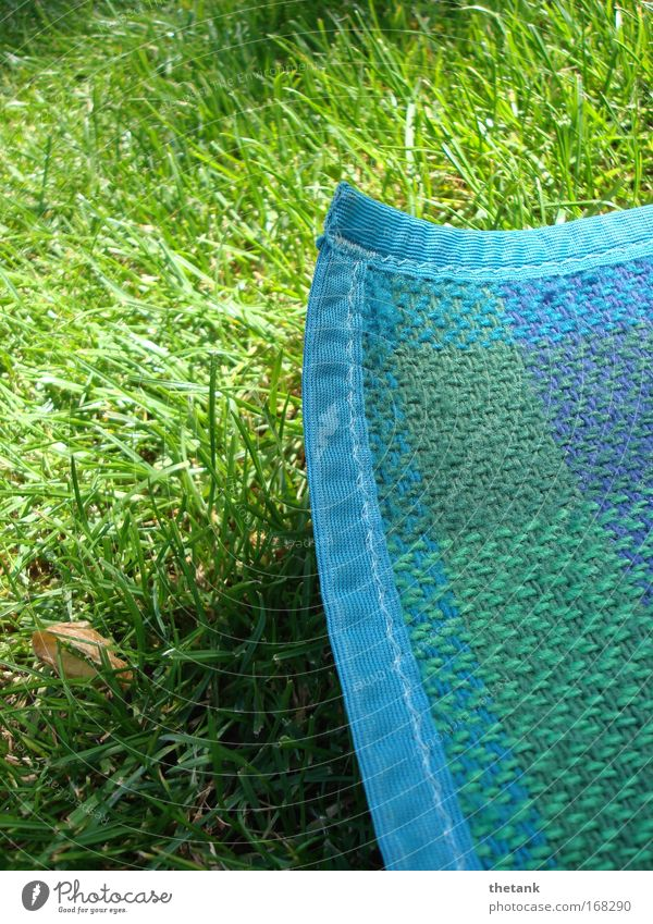 Green Blue Summer Vacation & Travel Relaxation Meadow Grass Warmth Contentment Trip Leisure and hobbies Hot Serene Picnic Blanket