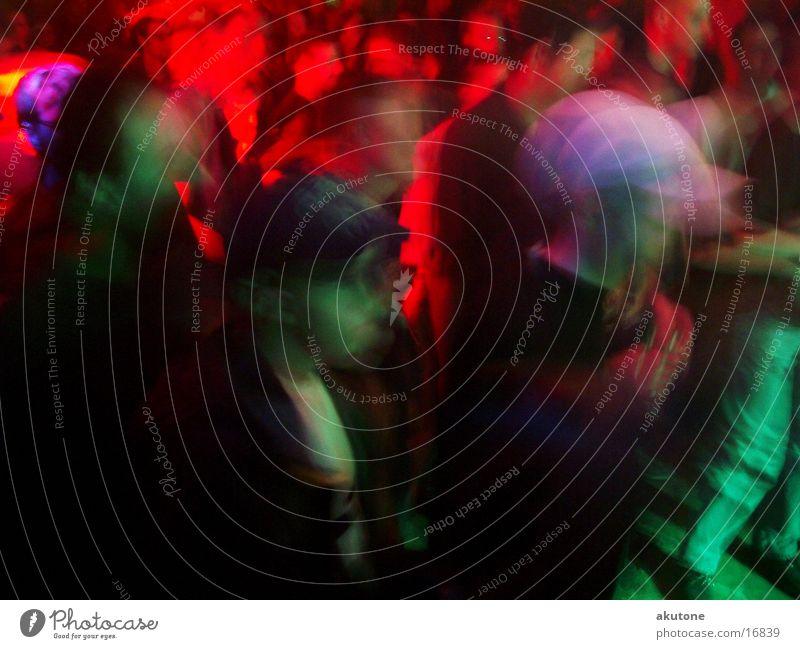 peops Blur Party Concert Long exposure Multicoloured Light Club jam Party goer