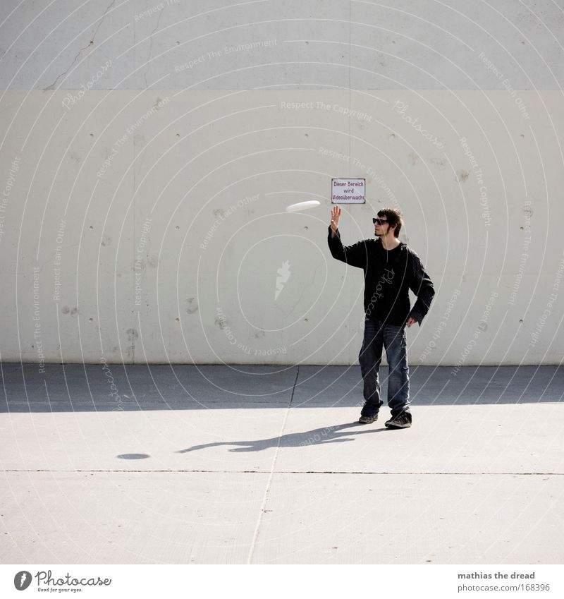 Catch Me If You Can Colour photo Exterior shot Neutral Background Day Shadow Contrast Light (Natural Phenomenon) Sunlight Motion blur Shallow depth of field