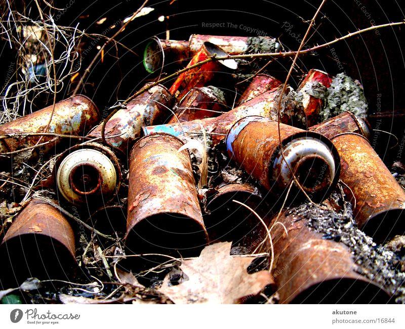 Trash Things Trashy Rust Tin