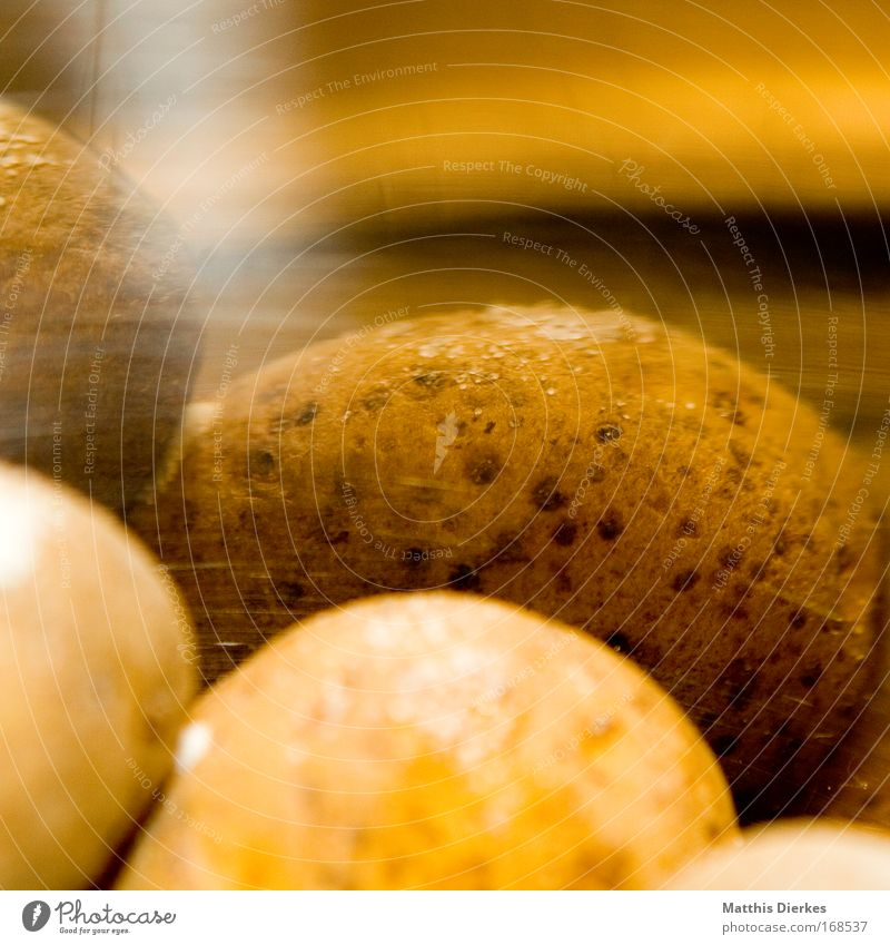 potatoes Colour photo Interior shot Close-up Detail Macro (Extreme close-up) Experimental Pattern Structures and shapes Copy Space top Artificial light