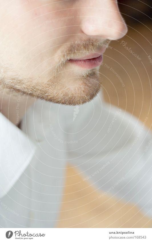 Human being Man White Face Adults Head Blonde Wait Mouth Skin Nose Fresh Success Cool (slang) Friendliness Shirt