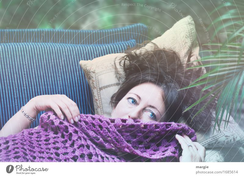 AST 9 | Flower of the Orient Beautiful Contentment Calm Human being Feminine Young woman Youth (Young adults) Woman Adults Face 1 Hair and hairstyles