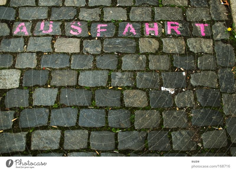 for women Colour photo Exterior shot Abstract Pattern Structures and shapes Deserted Day Places Traffic infrastructure Pedestrian Street Lanes & trails