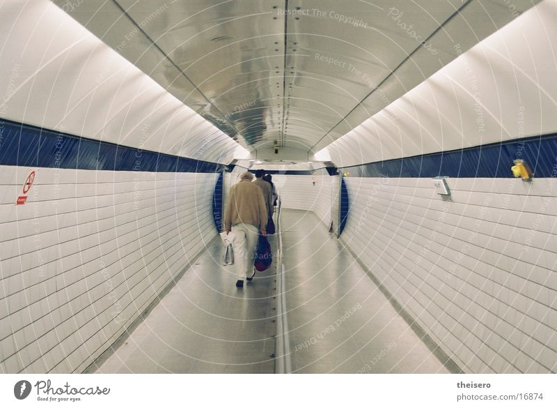 disposable tube Tunnel London London Underground Infinity Architecture Escape