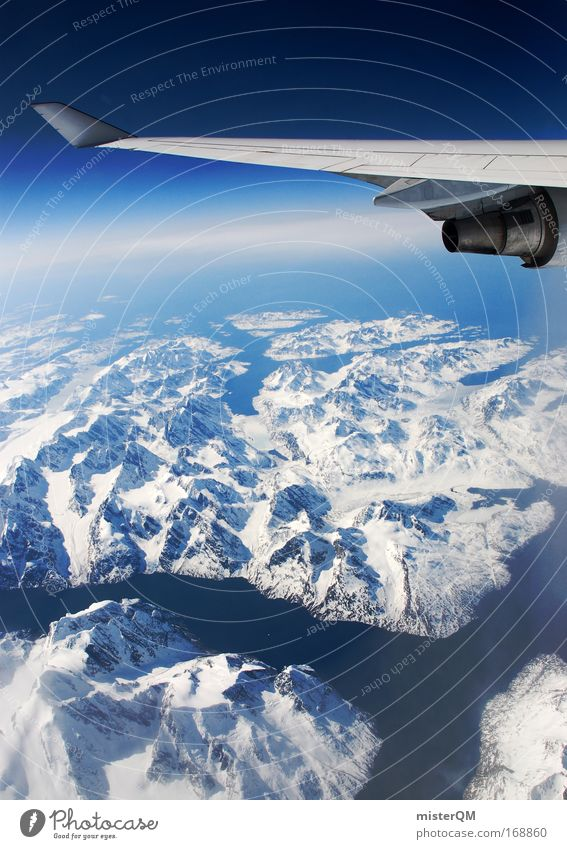 White Ocean Vacation & Travel Cold Mountain Freedom Ice Airplane Glass Environment Flying Tall Earth River Peace Discover