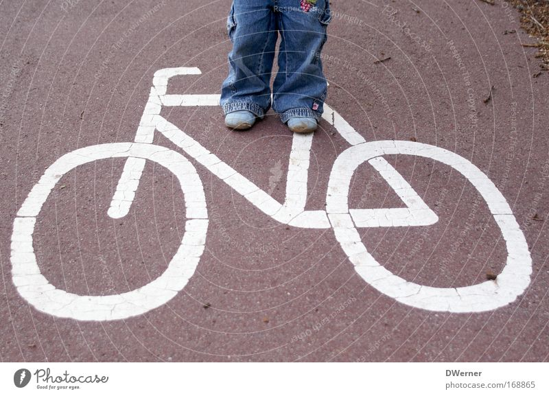Human being Blue White Red Street Movement Legs Bicycle Fear Leisure and hobbies Walking Concrete Hiking Places Transport Driving