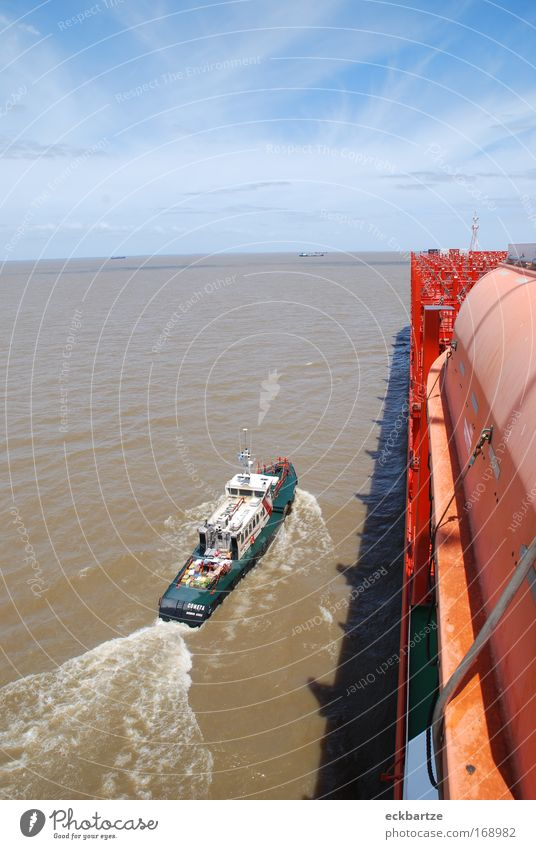 Watercraft Large Services Navigation Container ship On board Pilot vessel