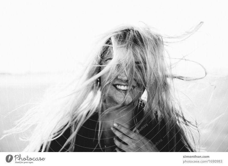 Human being Beautiful Eroticism Joy Warmth Funny Natural Feminine Healthy Happy Hair and hairstyles Wild Free Fresh Elegant Blonde