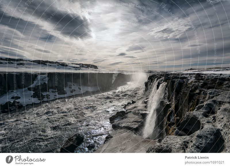 Detifoss Nature Vacation & Travel Beautiful Water Landscape Relaxation Calm Environment Life Natural Earth Horizon Weather Contentment Energy Island