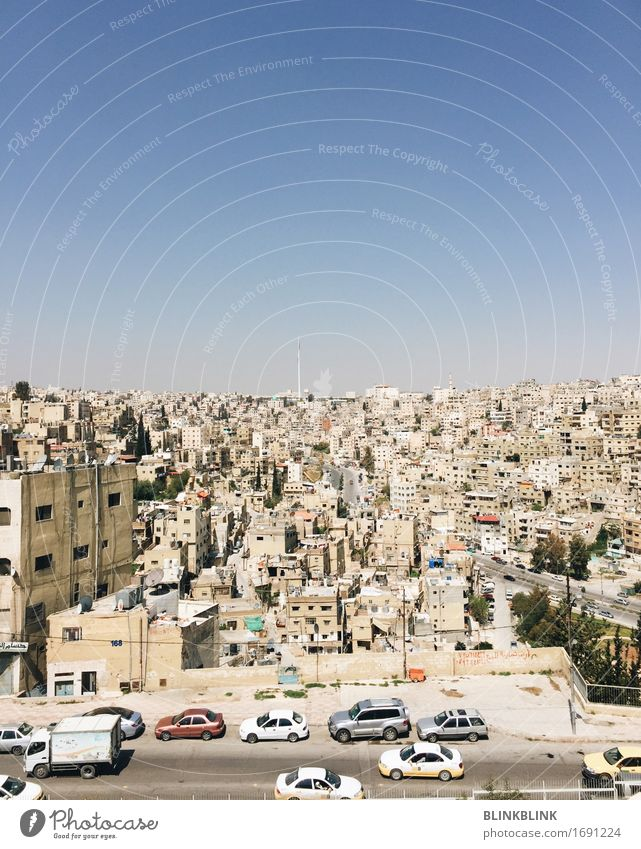 Amman Vacation & Travel Tourism Adventure Sightseeing City trip Jordan Small Town Capital city Downtown Skyline Populated Deserted House (Residential Structure)
