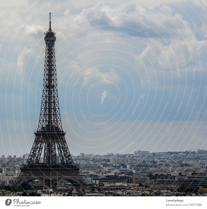 Eiffel Tower Lifestyle Style Leisure and hobbies Vacation & Travel Tourism Trip Adventure Far-off places Freedom Sightseeing City trip Art Work of art