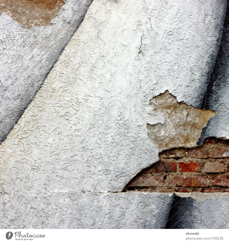 Old House (Residential Structure) Colour Wall (building) Stone Wall (barrier) Work and employment Facade Broken Brick Plaster Train station Block Paintwork