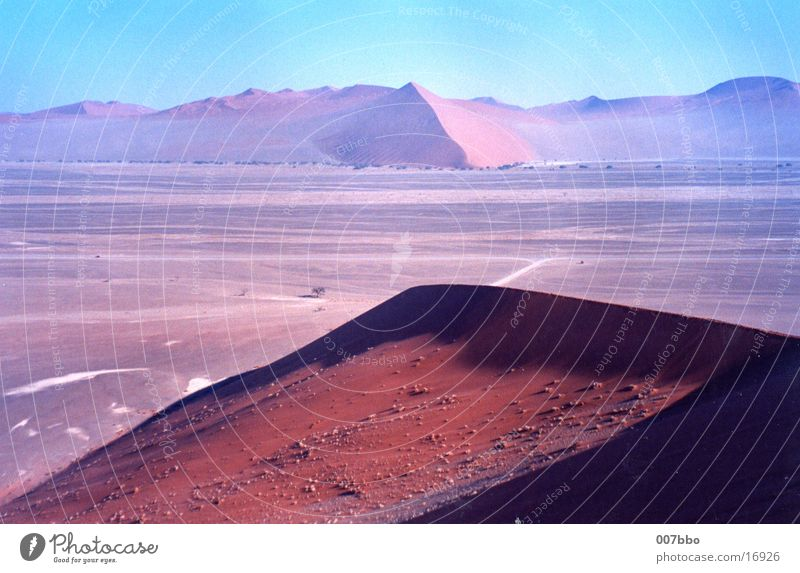 Warmth Sand Africa Desert Physics Beach dune Namibia