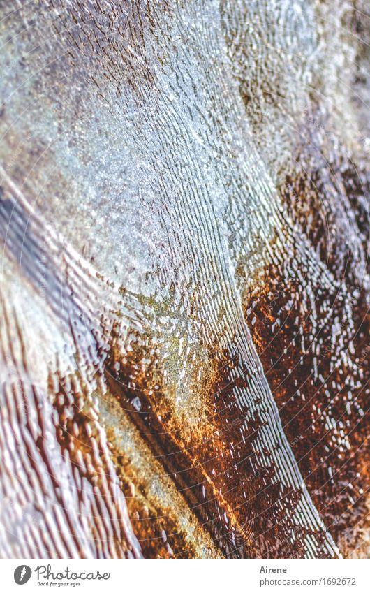 outflow Water Movement Cool (slang) Fluid Fresh Cold Wet Blue Brown Well Flow Descend Downward Drainage Gutter Flood Colour photo Exterior shot Experimental