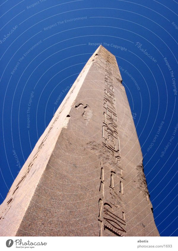 Egypt Temple Buenos Aires Luxor Obelisk