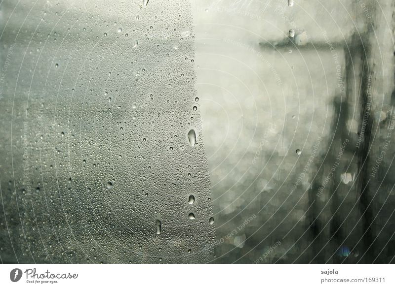 Water Loneliness Death Window Gray Sadness Drops of water Wet Grief Gloomy Fluid Plastic Elements Concern
