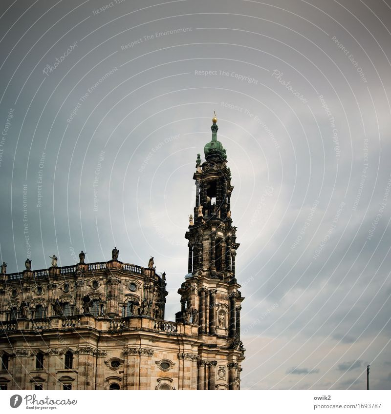 sandstone mountains Baroque Elbsandstein region Dresden Germany Capital city Town Downtown Old town Skyline Church Manmade structures Building Architecture