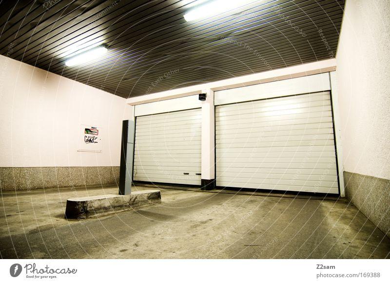 City Cold Building Line Architecture Elegant Simple Garage Gate Sharp-edged Highway ramp (entrance) Highlight Underground garage