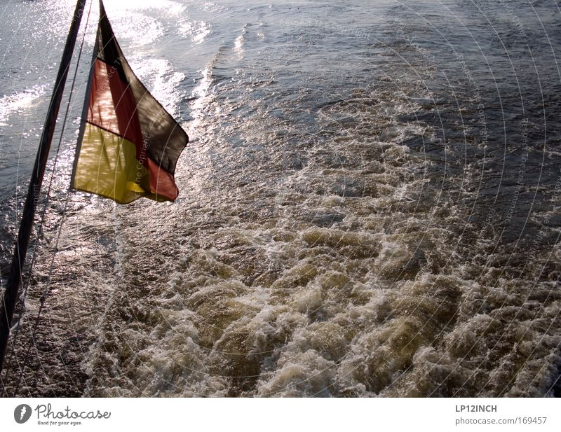 Nature Water Red Ocean Joy Black Yellow Environment Freedom Gold Wet Trip Swimming & Bathing River Flag Discover