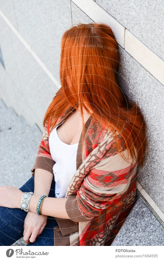 redhairdontcare Lifestyle Human being Feminine Young woman Youth (Young adults) Woman Adults Hair and hairstyles 1 18 - 30 years Red-haired Long-haired Esthetic