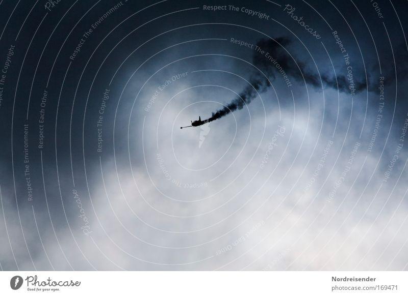 Sky Joy Dark Air Weather Elegant Flying Tall Modern Airplane Esthetic Aviation Lifestyle Threat Shows Hunting