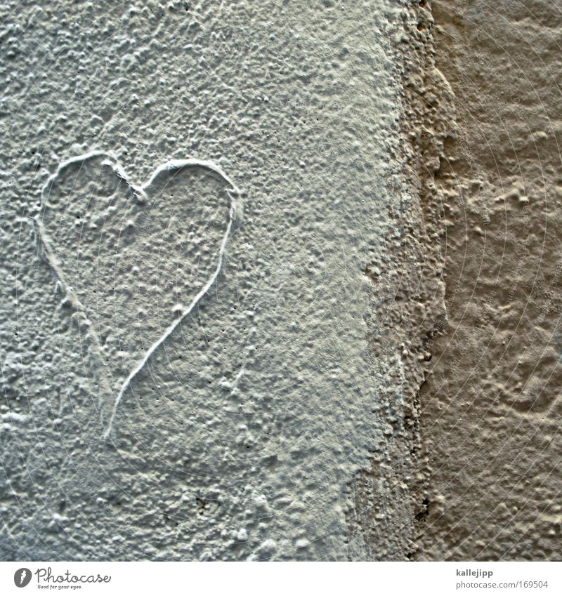 White Love Wall (building) Happy Stone Wall (barrier) Line Graffiti Power Heart Small Tourism Characters Kitsch Thin Trust