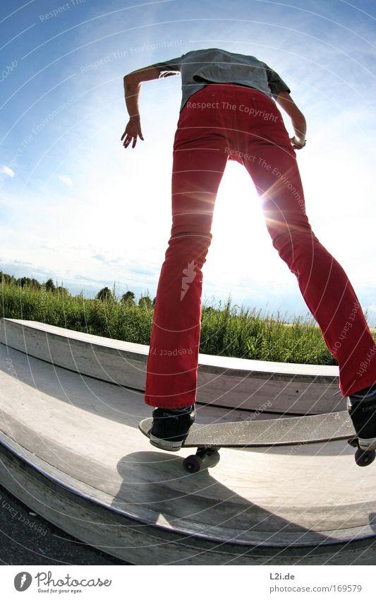 Blue Red Joy Sports Happy Crazy Speed Happiness Thin Joie de vivre (Vitality) Skateboard Athletic Back-light Sportsperson