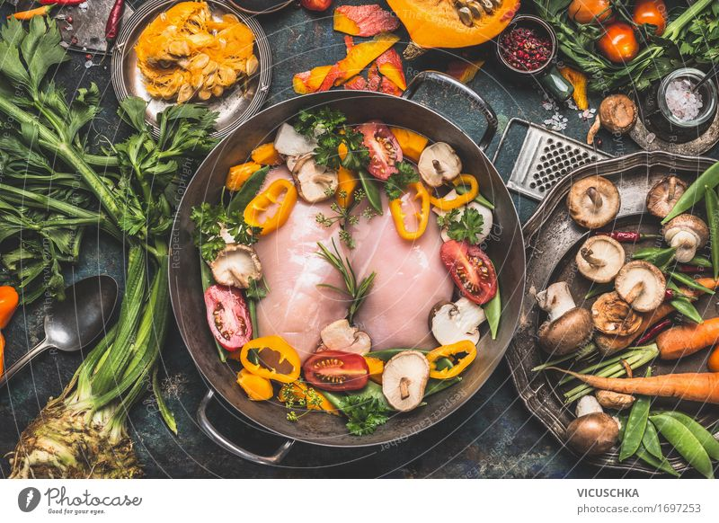 Healthy Eating Winter Dish Yellow Life Autumn Style Food Design Living or residing Nutrition Table Herbs and spices Kitchen Cooking Vegetable