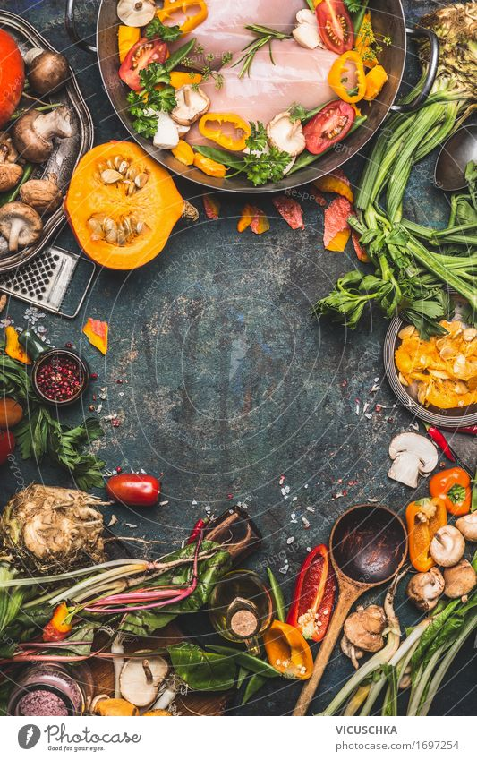 Healthy Eating Winter Yellow Life Style Food Design Nutrition Table Herbs and spices Kitchen Vegetable Organic produce Restaurant Crockery Meat