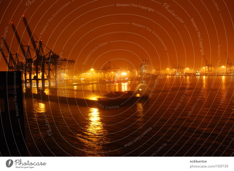 Vacation & Travel Large Growth Harbour Luxury Night Navigation Container Container terminal