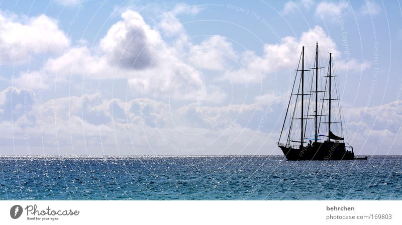 black pearl Colour photo Multicoloured Exterior shot Sunlight Sunbeam Vacation & Travel Tourism Trip Adventure Far-off places Freedom Sky Clouds Waves Ocean