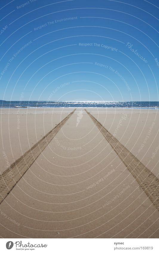 Nature Water Vacation & Travel Sun Ocean Summer Beach Far-off places Environment Landscape Freedom Lanes & trails Sand Air Horizon Trip