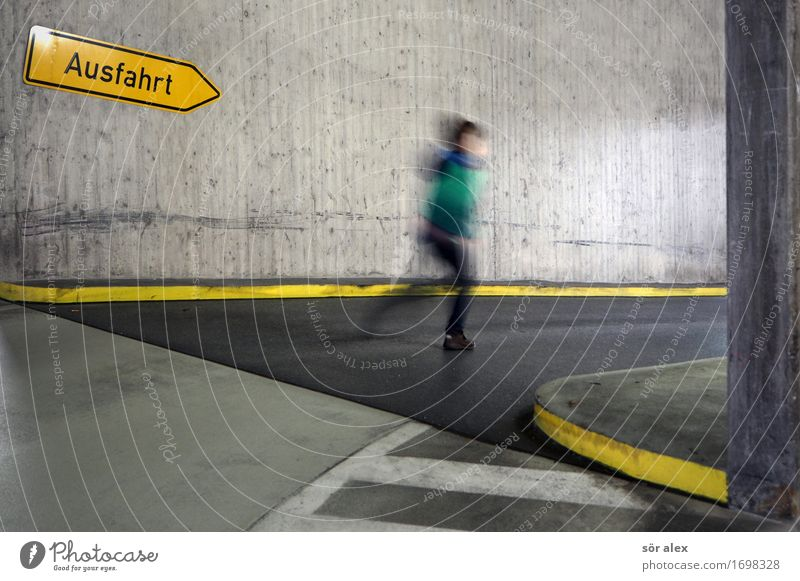 Human being Child Sports Boy (child) Playing Masculine Infancy Walking Parking garage Highway ramp (exit) 3 - 8 years Exit route Trend-setting